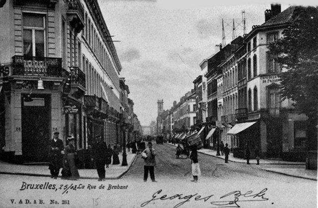 Rue de Brabant 18 ème siècle