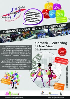 Grand événement des commerçants de la rue de Brabant